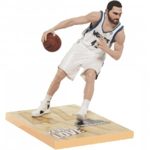 McFarlane Toys Kevin Love Minnesota Timberwolves Series 21 NBA Figure (white)