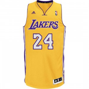 NBA Kobe Bryant Revolution 30 Swingman Jersey (gold)