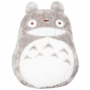 Studio Ghibli Marushin My Neighbor Totoro Big Totoro Die-cut Pillow (gray)
