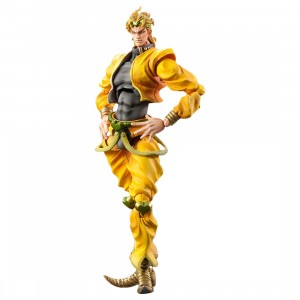 Medicos Super Action Statue JoJo's Bizarre Adventure Part 3 Stardust Crusaders Dio Brando Chozokado Figure Re-Run (yellow)