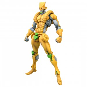 Medicos Super Action Statue JoJo's Bizarre Adventure Part 3 Stardust Crusaders The World Chozokado Figure Re-Run (yellow)
