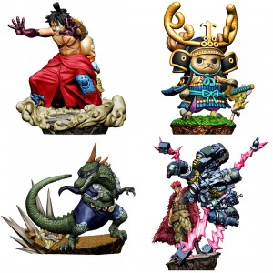 MegaHouse One Piece Logbox Re:Birth Wano Country Vol.2 Set of 4 Figures (multi)