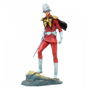 MegaHouse Gundam Guys Generation Mobile Suit Gundam Char Aznable Figure Re-Run (red)