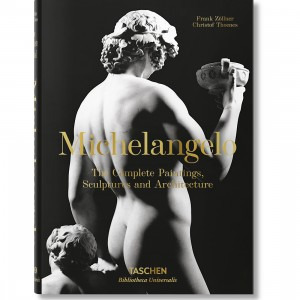 Michelangelo The Complete Paintings Hardcover Book (black)