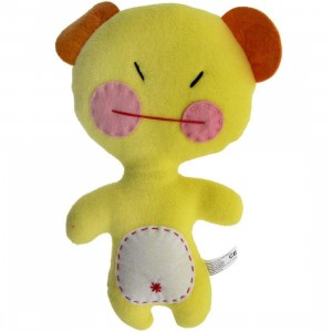 Dooodolls Missy Micey Plush - Cancer (yellow)