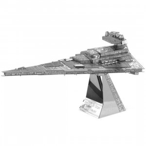 Fascinations Metal Earth Model Kit - Star Wars Imperial Star Destroyer (silver)