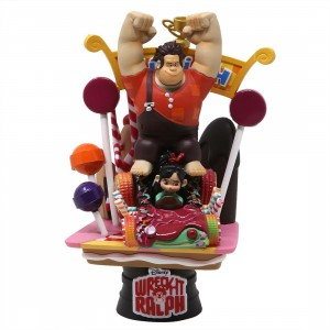 Beast Kingdom Disney Wreck-It Ralph D-Select DS-008 6 Inch Statue - PX Previews Exclusive (orange)