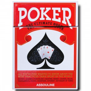 Poker By Assouline Book (red / hardcover)