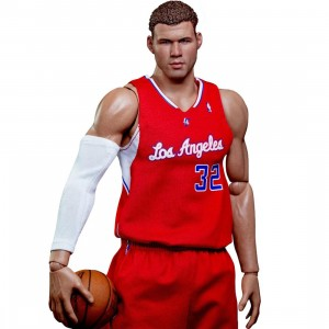 NBA x Enterbay Blake Griffin 1/6 Scale 12 Inch Figure (red / white)
