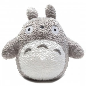 Studio Ghibli Sun Arrow My Neighbor Totoro Grey Fluffy Big Totoro 13 Inch Plush (gray)