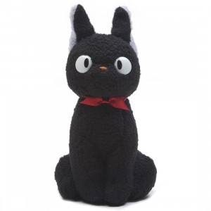 Studio Ghibli Sun Arrow Kiki's Delivery Service Jiji Prim 6 Inch Small Plush (black)
