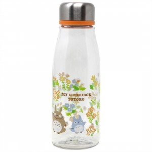 Studio Ghibli Skater My Neighbor Totoro Stylish Totoro Infuser Bottle (silver)
