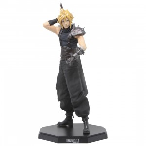 Square Enix Final Fantasy VII Remake Statuette Cloud Strife Statue (navy)