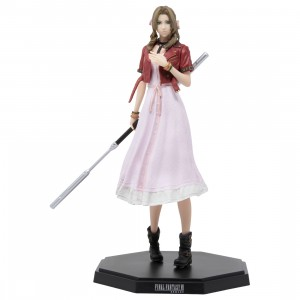 Square Enix Final Fantasy VII Remake Statuette Aerith Gainsborough Statue (pink)