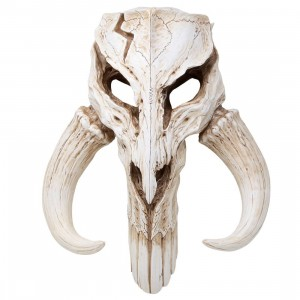 Regal Robot Star Wars Mandalorian Skull Wall Decor (beige)