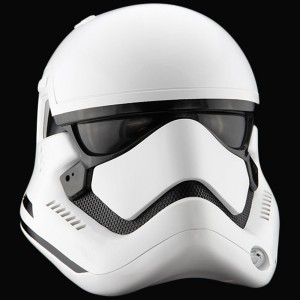 ANOVOS Star Wars The Force Awakens First Order Stormtrooper Helmet (white)