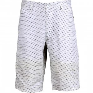 Triumvir Polka Dot Shorts (white)