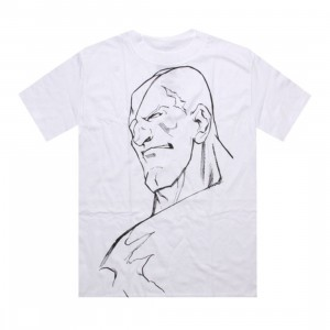Triumvir Street fighter World Warrior Tee - Sagat (white)