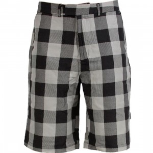 Triumvir Plaid Shorts (grey)