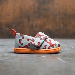 TOMS x Sesame Street Toddlers Alpargata - Elmo (red / gray / white)
