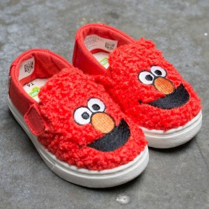 TOMS x Sesame Street Toddlers Luca - Elmo (red)
