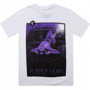 TITS Purple Lean Tee (white)