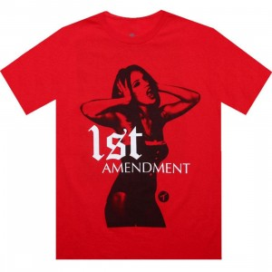 TITS 1st Amendment Tee (red)