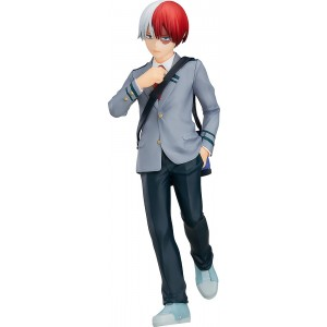PREORDER - Good Smile Company Pop Up Parade My Hero Academia Shoto Todoroki Figure (gray)