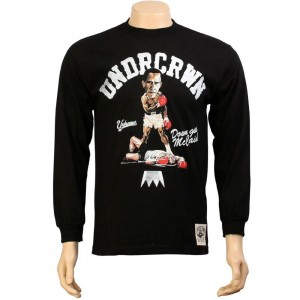 Under Crown Down Goes McCain Long Sleeve Tee (black)