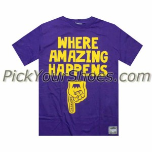 Under Crown Where Amazing Happens Tee - Lakers (purple / gold)