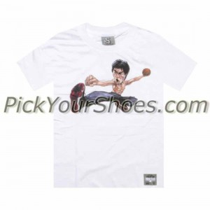UNDRCRWN x Bruce Lee - AJ11 Black Red Tee (white) - PYS.com Exclusive