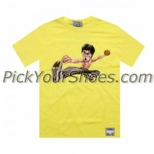 UNDRCRWN x Bruce Lee - AJ11 WB Tee (yellow)