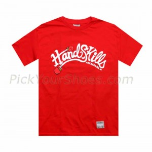 UNDRCRWN PickYourShoes.com Exclusive - Hand Skills Tee (red)