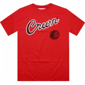 UNDRCRWN Rookie Of The Year Tee (red / black)