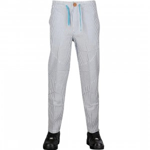 Under Crown Stripe Pants (blue / white)