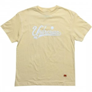 Under Crown UndrCrwn Script Tee (canary)