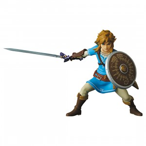PREORDER - Medicom UDF Link The Legend Of Zelda Breath Of The Wild Figure (blue)
