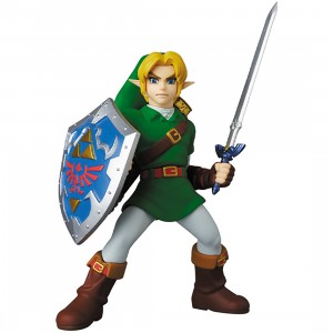 PREORDER - Medicom UDF Link The Legend Of Zelda Ocarina Of Time Figure (green)