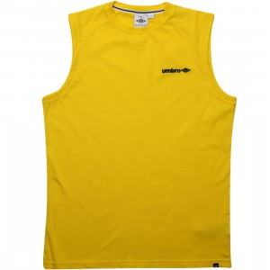 Umbro Lever Sleeveless Tee (yellow)