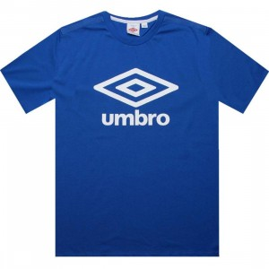 Umbro Fettes Logo Tee (royal)