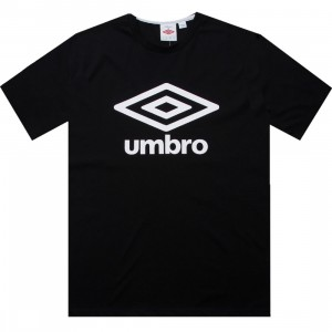 Umbro Fettes Logo Tee (black / white)