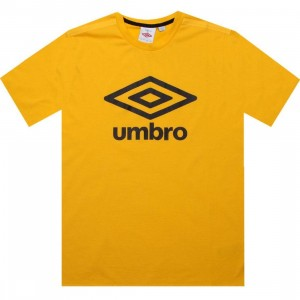 Umbro Fettes Logo Tee (yellow)