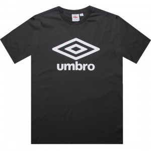 Umbro Fettes Logo Tee (dark shadow grey)