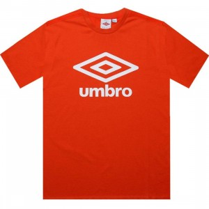 Umbro Fettes Logo Tee (flame orange)