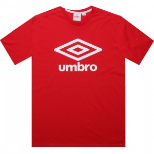 Umbro Fettes Logo Tee (vermillion red)