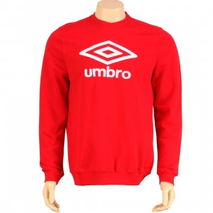 Umbro Repton Sweater (vermillion red)