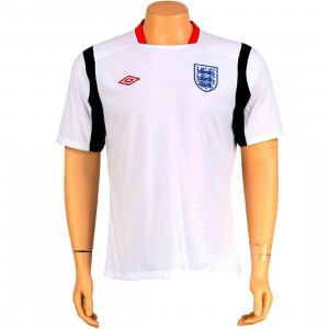 Umbro England Associated Jersey (white / galaxy / vermillion)