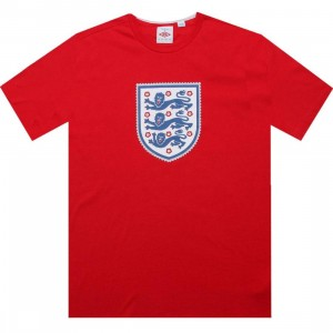 Umbro England Sportswear Graphic Tee (vermillion red)