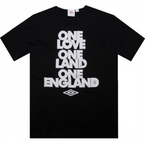 Umbro One England Tee (black)