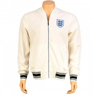 Umbro England Knitted Track Jacket (whisper white)